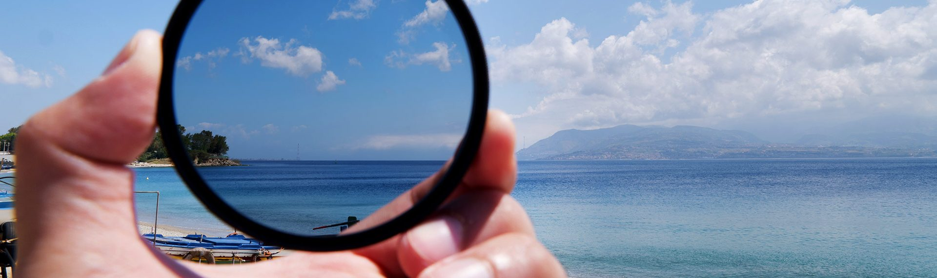 American Polarizers Inc.: Polarized Difference of a Beach View