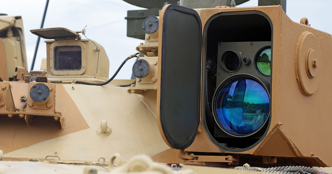 Vision System on Military Vehicle | American Polarizers, Inc.