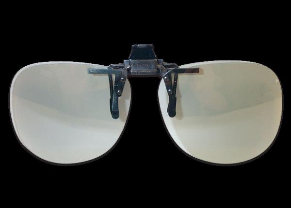 3D Lux circular polarizer black clip on