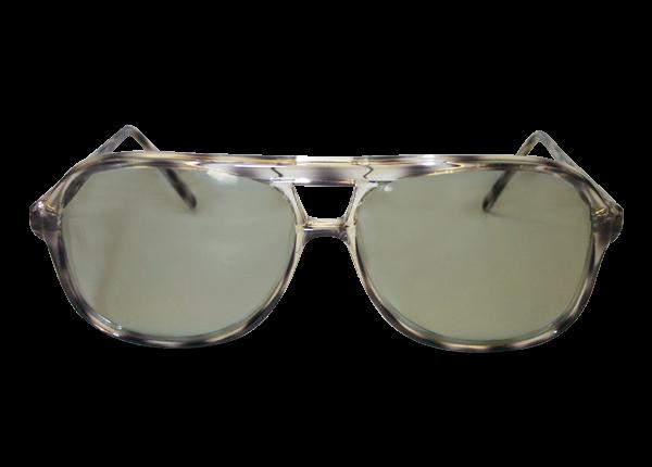 3D Lux circular polarizer grey captain frames